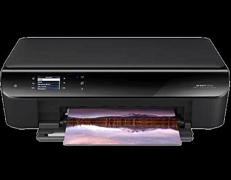 123 hp envy 4500 printer setup