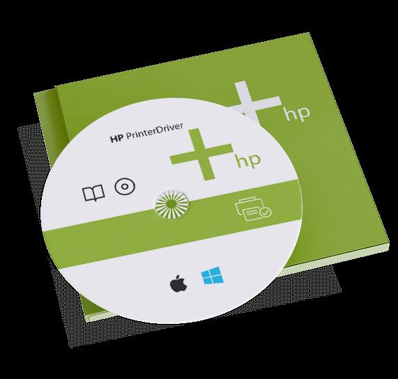 hp printer driver install using cd